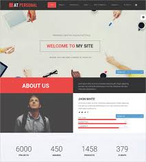 Personal Website Templates Custom 28 Free Personal Website Themes Templates Free Premium Templates