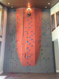 home climbing wall by elevate climbing
