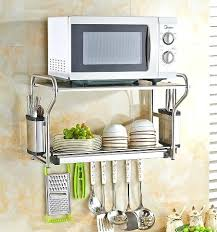 kitchen wall shelves stainless steel 1 tier pipe shelf india commercial