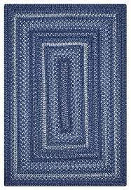 homespice decor indigo ultra wool braided rugs 20 x 30 rectangle