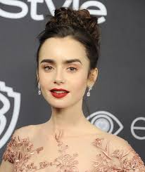 lily collins gregg deguire getty images