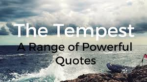 Famous Quote From The Tempest