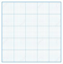 Vector Square Engineering Graph Paper With 5 Metric Divisions