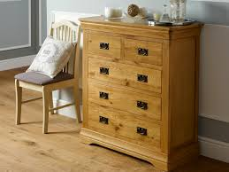Oak Bedroom Chest Of Drawers French Farmhouse Country Oak 2 Over 3 Chest Of Drawers