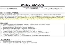 Cv Personal Profile Examples 9 10 Career Change Cv Examples Lasweetvida Com