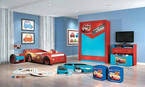 Paint For Kids Bedroom Colorful Kids Bedroom Idea Blue Wall Paint With Curtains For Boys