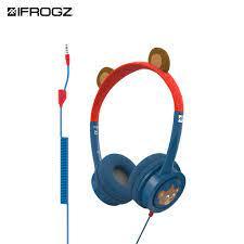 Tai nghe iFrogz Headphone-Little Rockerz Costume có dây dành cho trẻ em -  hàng chính hãng