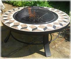 extra large 40 round barbecue fire pit