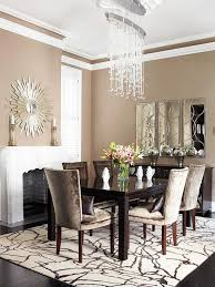 mirrors formal dining room with bling