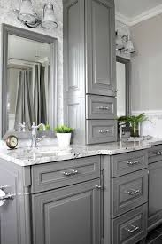 white bathroom cabinets gray walls. south shore decorating blog: gorgeous gray: kitchens and bathrooms with modern gray painted cabinets white bathroom walls b