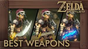 Zelda Breath Of The Wild Best Weapons The Best Swords And