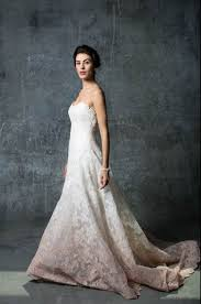 peach ombre sleeves and bare backs fall 2014 wedding gown trends