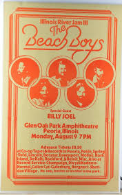 Only a true billy joel fan can name all of these hit songs by 1 line. The Beach Boys Billy Joel 1976 Concert Poster Mar 28 2020 Gws Auctions Inc In Ca