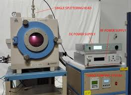 the above pic shows a complete rf dc switchable sputtering coating system by using this vacuum chamber single sputtering is equipped w mechanical