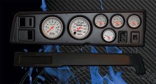 68 70 charger blk dash w ultra lite gauges