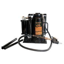 BLACK BULL 20 Ton Pneumatic Bottle Jack Jack-800081 - The Home Depot