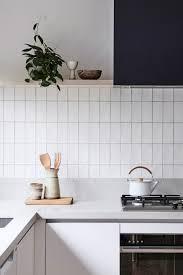Vertical Tile Backsplash Unique Stack Bond Tile Centsational Style