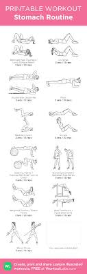 free printable gym workout routines the wig galleries