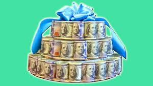 Diy How To Make A Money Cake Youtube