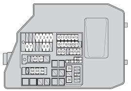 toyota matrix second generation mk2 (e140; 2009 2014) fuse box Mazda 3 Fuse Box Diagram toyota matrix second generation mk2 (e140; 2009 2014) fuse box diagram