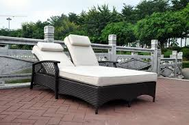 decoration in double chaise lounge outdoor with outdoor double chaise lounge sonic home idea