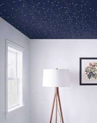 wallpaper the ceiling successfully with