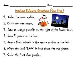 best active listening activities images active  following directions activity haunted house