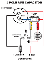 wiring diagram for ac start capacitor comvt info Capacitor Start Motor Wiring Diagram Start Run ac motor start capacitor wiring diagram ac free wiring diagrams, wiring diagram AC Motor Wiring Diagram
