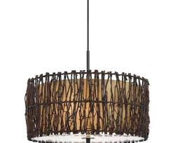 wire drum pendant light popular full size of furniture stylish drum pendant lighting wood