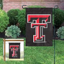details about texas tech red raiders embroidered garden window flag