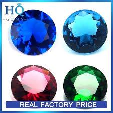 decorative glass gems hot colored diamond cut glass gems decorative glass gems bulk