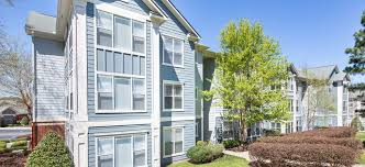 exterior at colonial grand at research park luxury apartment homes in durham nc