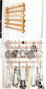 Rck Brcelet Wtch Disply Stnd Showcse Gry Jewelry Storage Wall Mount Hanger  Display Diy Rack Pinterest. Jewelry Organizer ...