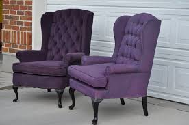 purple tufted chair. Unique Tufted Very Best Cassandra Design Delicious Purple Tufted Halloween Wingback  Chairs GE84 Intended Chair