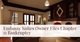 Embassy Suites Owner Files for Chapter 11 Bankruptcy Dion R