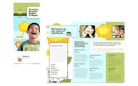 Microsoft Office Tri Fold Brochure Template Microsoft Office Tri Fold Brochure Template Word Templates Free Ms
