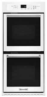 """White 24"""" <b>Double</b> Wall Oven with True Convection <b>KODC304EWH</b> ..."""