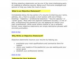 Download Writing Resume Objective | haadyaooverbayresort.com