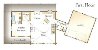 2 story house plans with master on second floor log home floor plans with loft 2