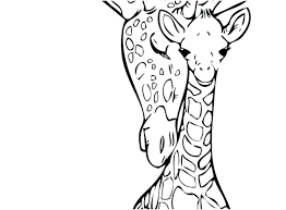 Pictures Of Giraffes To Color Baby Giraffe Coloring Pages Baby