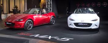 new car launches singaporeEurokars Group launches new Mazda MX5 in Singapore