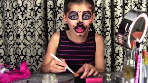monster high catty noir doll costume makeup tutorial for or cosplay kittiesmam video dailymotion