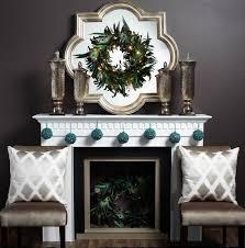 contemporary fireplace mantel decor
