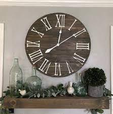 big wall clock the bailey roman numeral