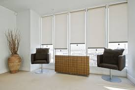 Roman Blinds In Kitchen Singapore Roller Blinds Indoor The Curtain Boutique
