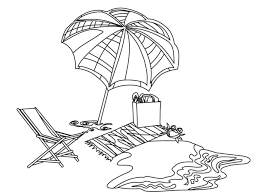 exciting seaside coloring pages beach landscape