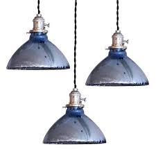 blue mercury glass pendant lights at 1stdibs intended for mercury glass pendant lighting 3