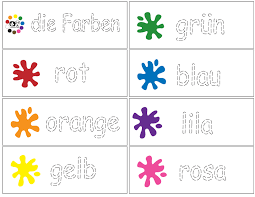 German -Color Trace - Writing Practice - laminate and use dry ...