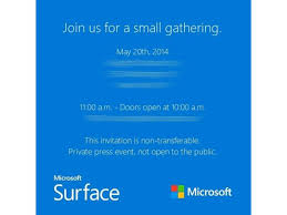 Microsoft Fuels Surface Mini Speculation With Small Event