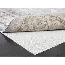 safavieh flat white 2 ft x 12 non slip rug pad pad121 212 the